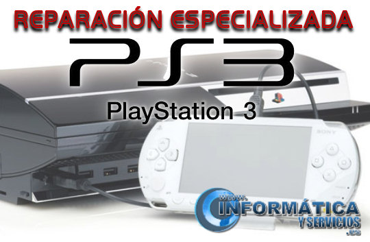 Reparación especializada de PlayStation 3